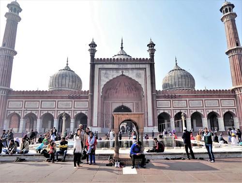 delhi-Mosquée Jama (3)