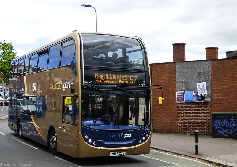 Stagecoach Devon 15253 YN65XDS