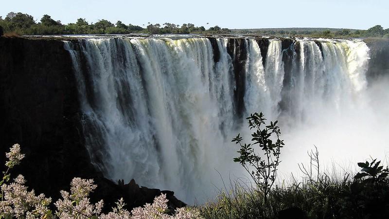 Victoria Falls, ZIMBABWE, July 2017