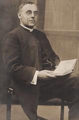 Reverend Dunn Wearing Pince-Nez in 1910