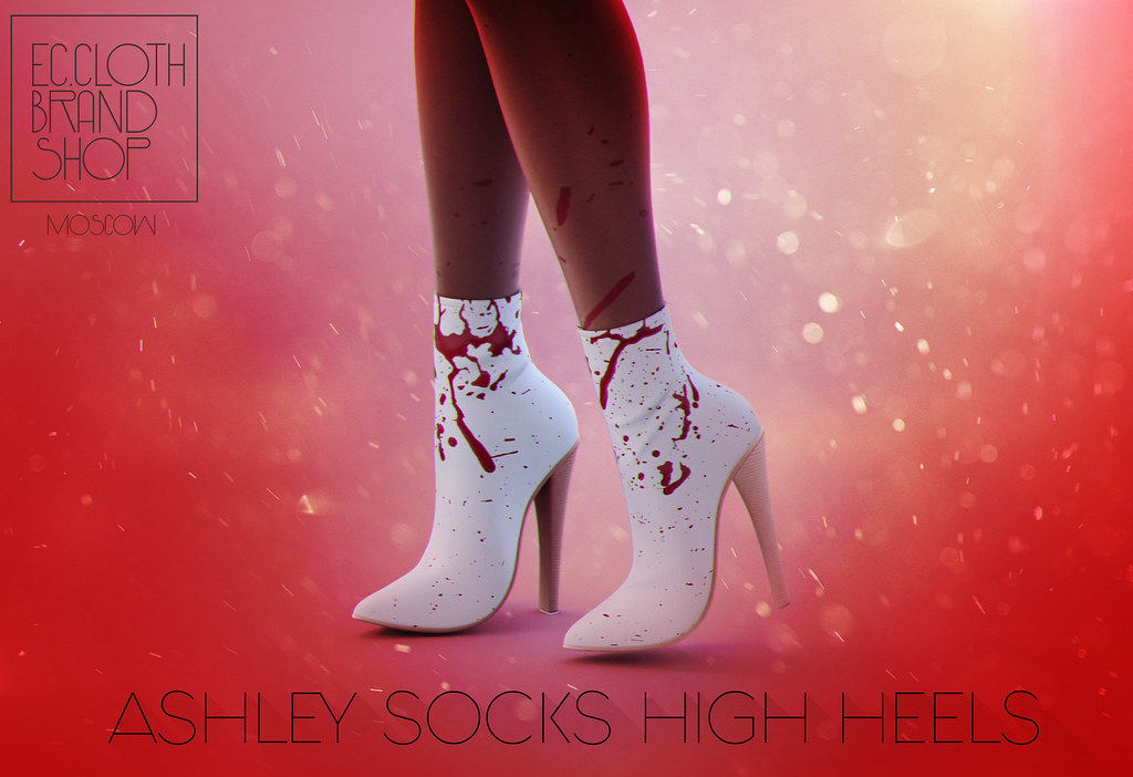 Ec.cloth – Ashley Socks High Heels