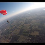 Proximity Parachute Flying Taylor Meade