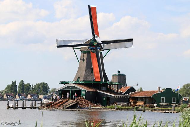 Working sawmill at Zaanse Schans - Netherlands