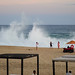 Beach Posers with Breakers por sarider1