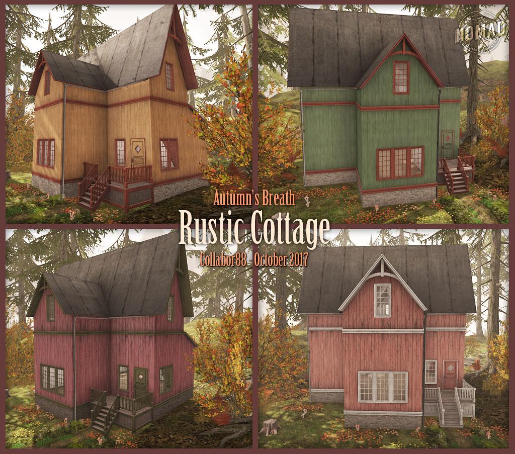 NOMAD // Rustic Cottage