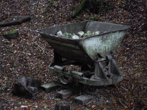 Buriton Chalk Pits LNR - Paraphernalia of Lime Production