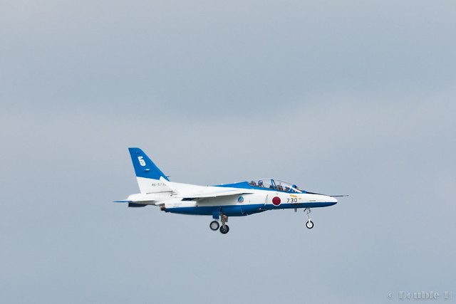 JASDF Chitose AB Airshow 2017 (125) Blue Impluse No.5 back to the base
