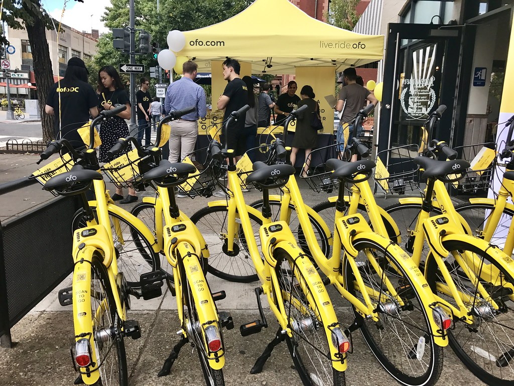 Ofo launch party in DC