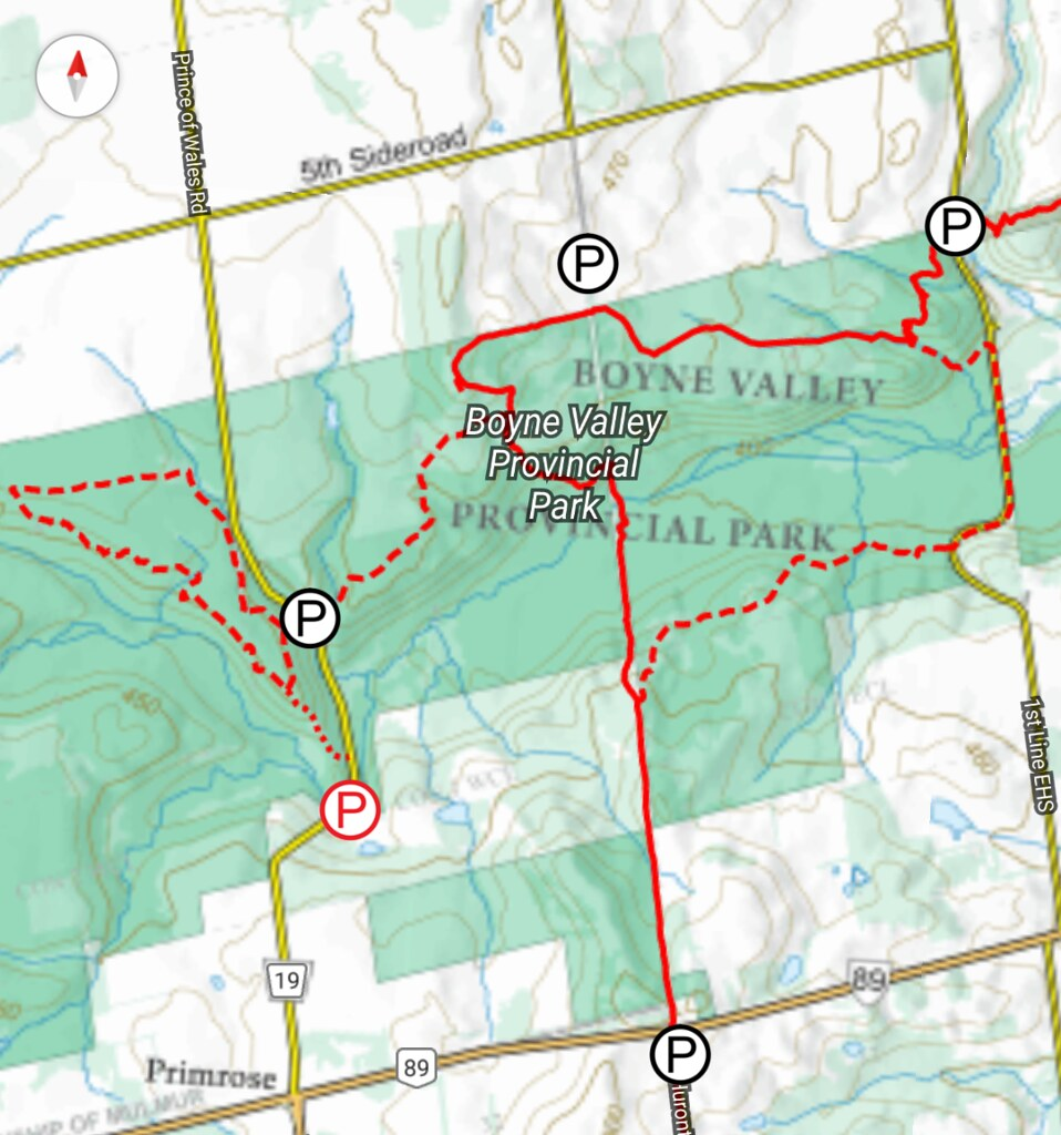 Boyne Valley PP Map