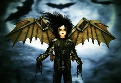 Edward scissorhands | Winged