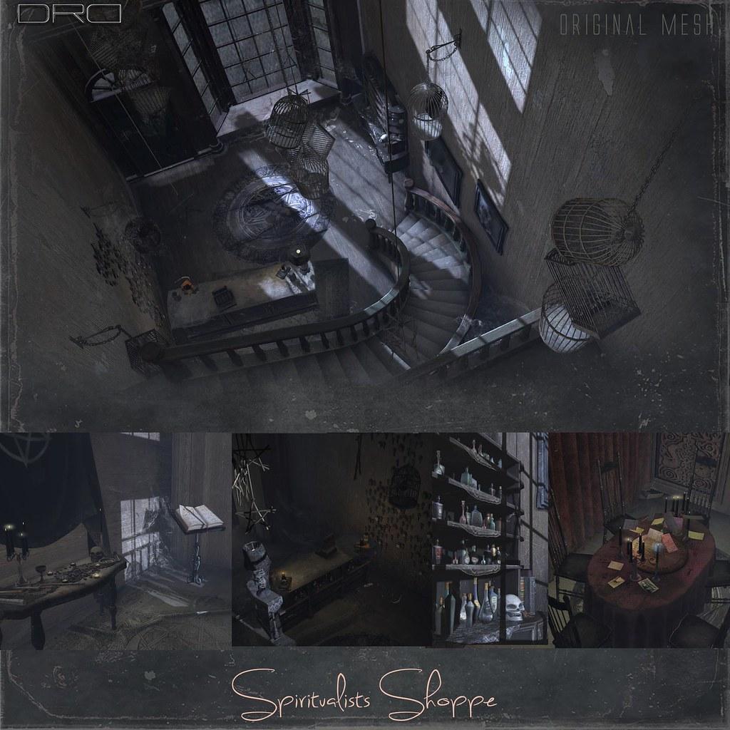 Spiritualists Shoppe (inside) - TeleportHub.com Live!