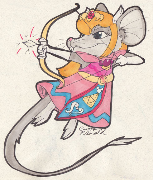 Day Three: Zelda Rat?