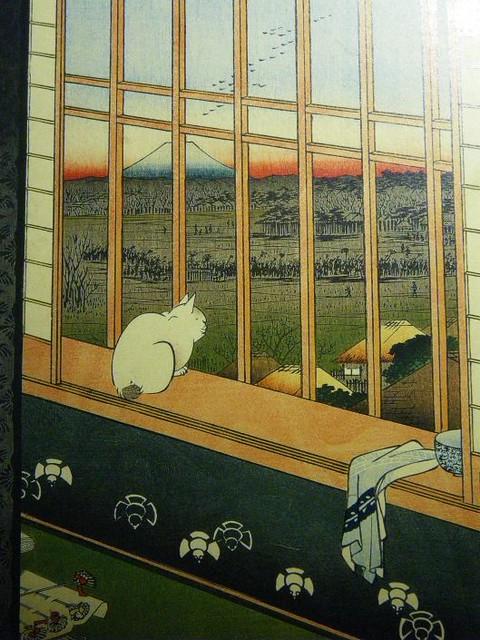 Hiroshige cat