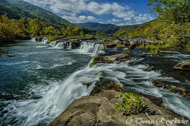 Sandstone Falls New River Gorge National River