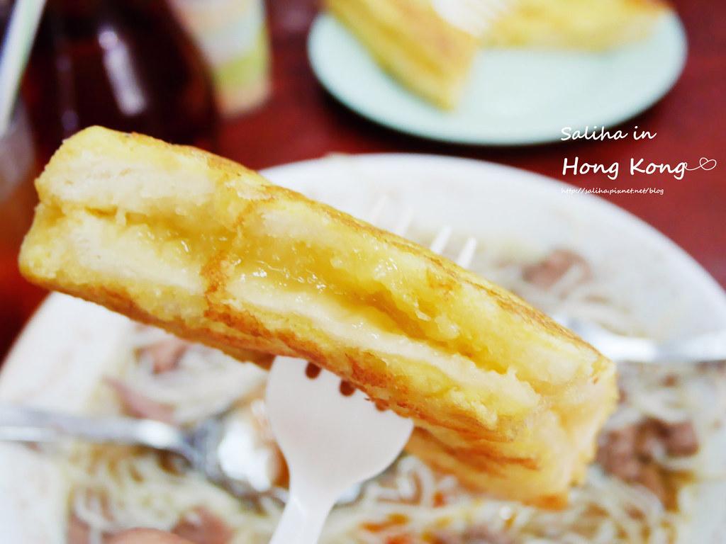香港必吃深水埗維記咖啡粉麵豬潤公仔麵 (4)