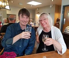 2017 0924 515 (SGS8+) Ian Rankin, Lucy; Appledore; The Seagate