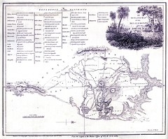 An Outline Map of the Settlements in NSW 1817