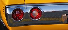 1972 Chevrolet Chevelle SS tail lights - Brampton Street Rods, Shoppers' World, Brampton, Ontario