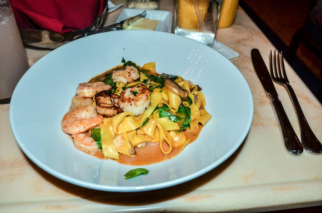 BOG shrimp pasta