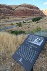 Mormon Trail in Echo Canyon