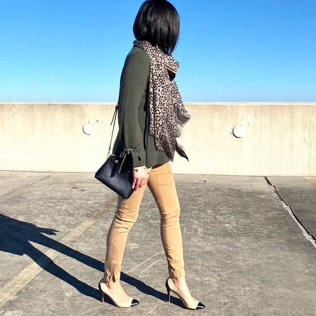 Ann Taylor Tie Sleeve Sweater Styled 3 Ways