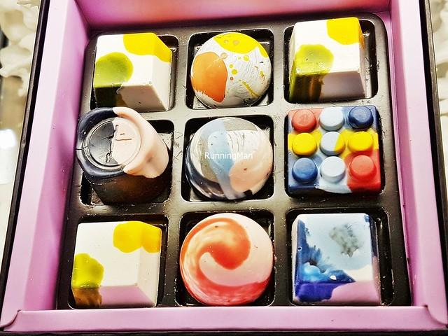 Chocolate Bonbons Box Of 9