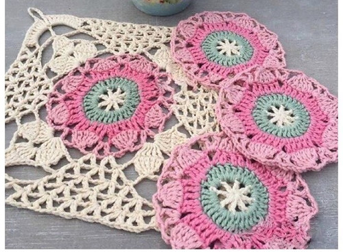 👏😮😍 I found this African dot in crochet, I loved this simple and very delicate pattern, see step by step. very beautiful