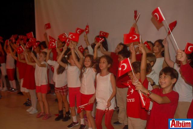 Doğa Koleji Alanya 29 Ekim Cumhuriyet Bayramı kutlaması -3