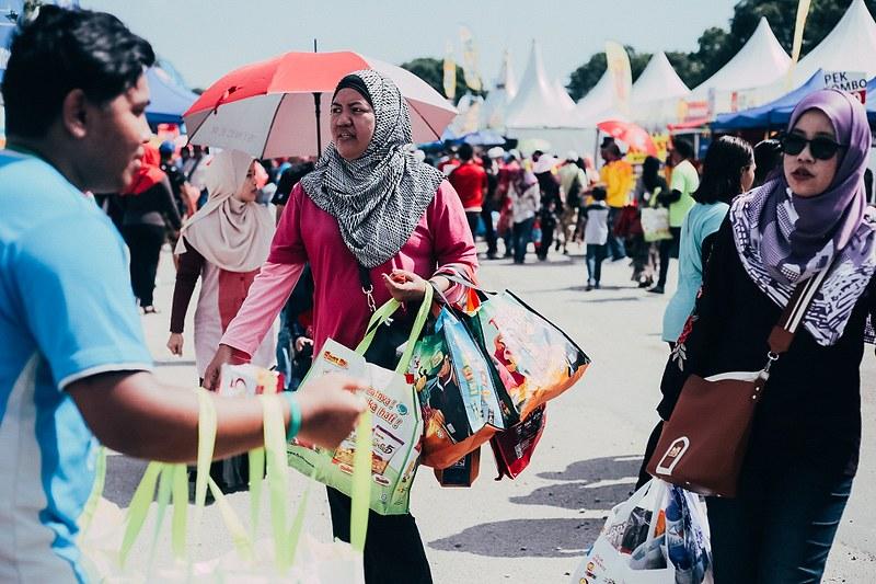 Suasana di KJH Johor Bahru
