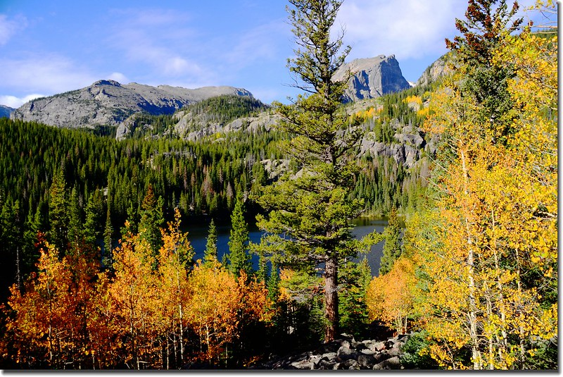 Bear Lake in Fall, taken from Bear Lake upper (7)