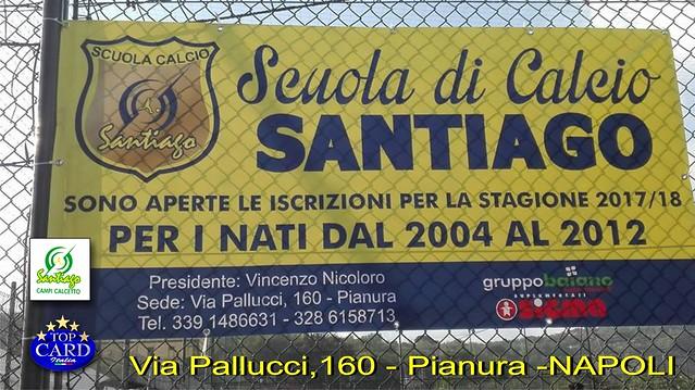 SCUOLA DI CALCIO SANTIAGO - Via Pallucci,160 - Pianura-NAPOLI