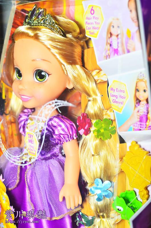 迪士尼公主娃娃-長髮公主 樂佩