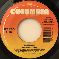 SURFACE:CLOSER THAN FRIENDS(LABEL SIDE-B)