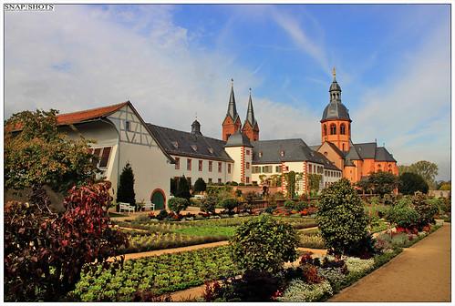 Seligenstadt Apothekergarten im Kloster