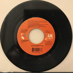 CE CE PENISTON:I'M IN THE MOOD(RECORD SIDE-A)