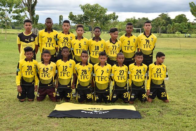Talentos futbol CLub Chigorodo
