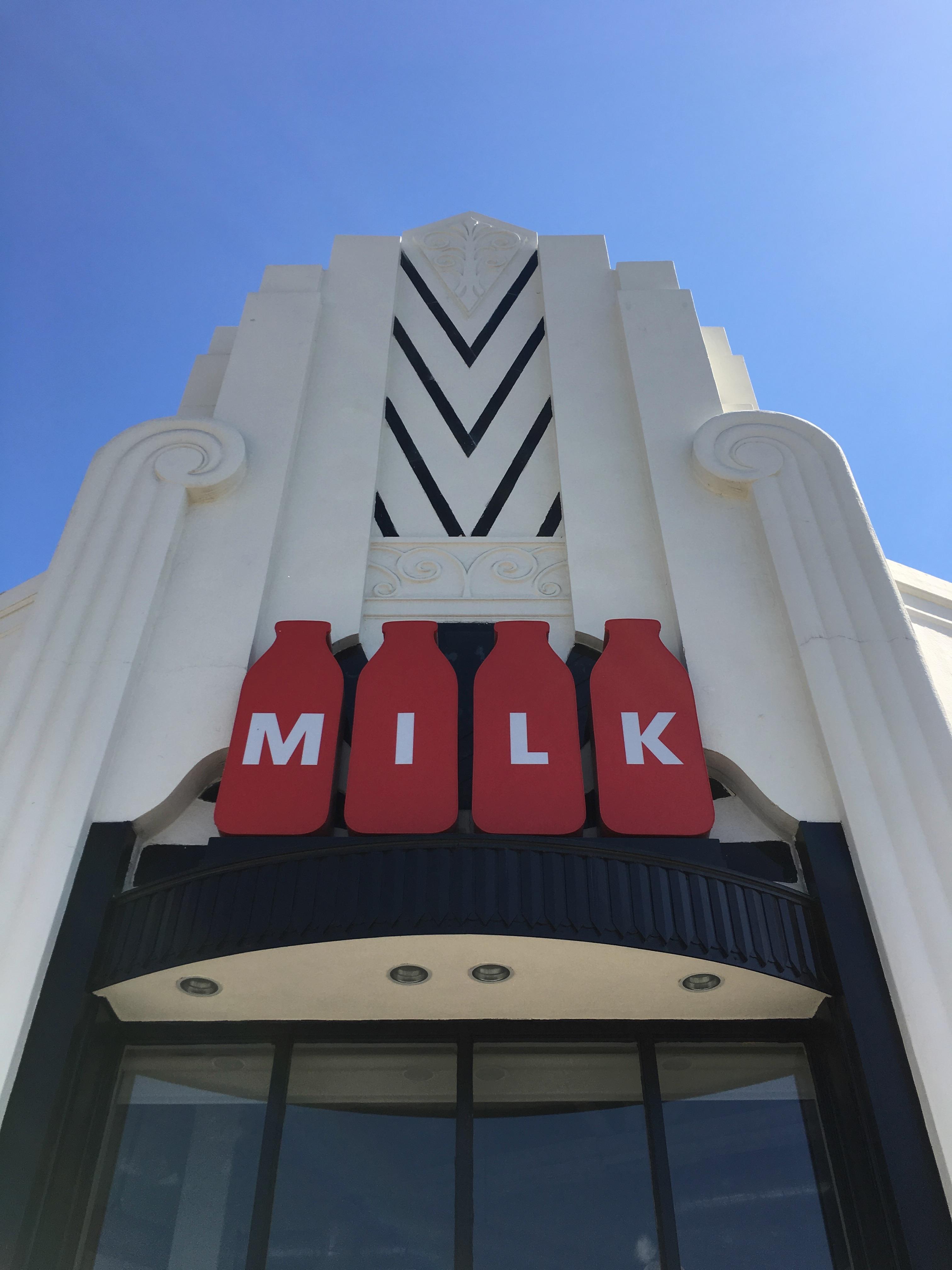 Los Angeles Food - milk exterior