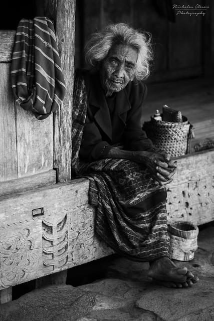 Indonesia | Woman in Luba Village