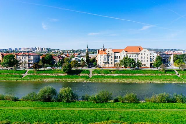 The view of the city of Przemysl / Der Blick auf die Stadt Przemysl