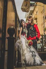 a gothic wedding