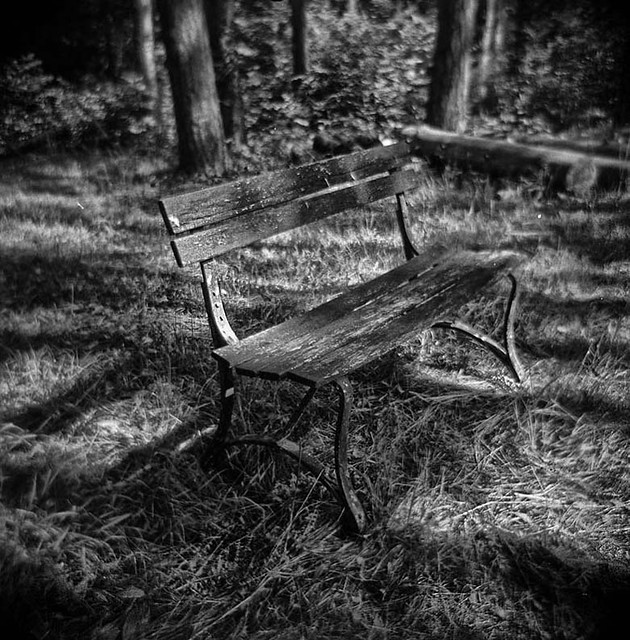 Hunting Camp Bench-Iron County, WI