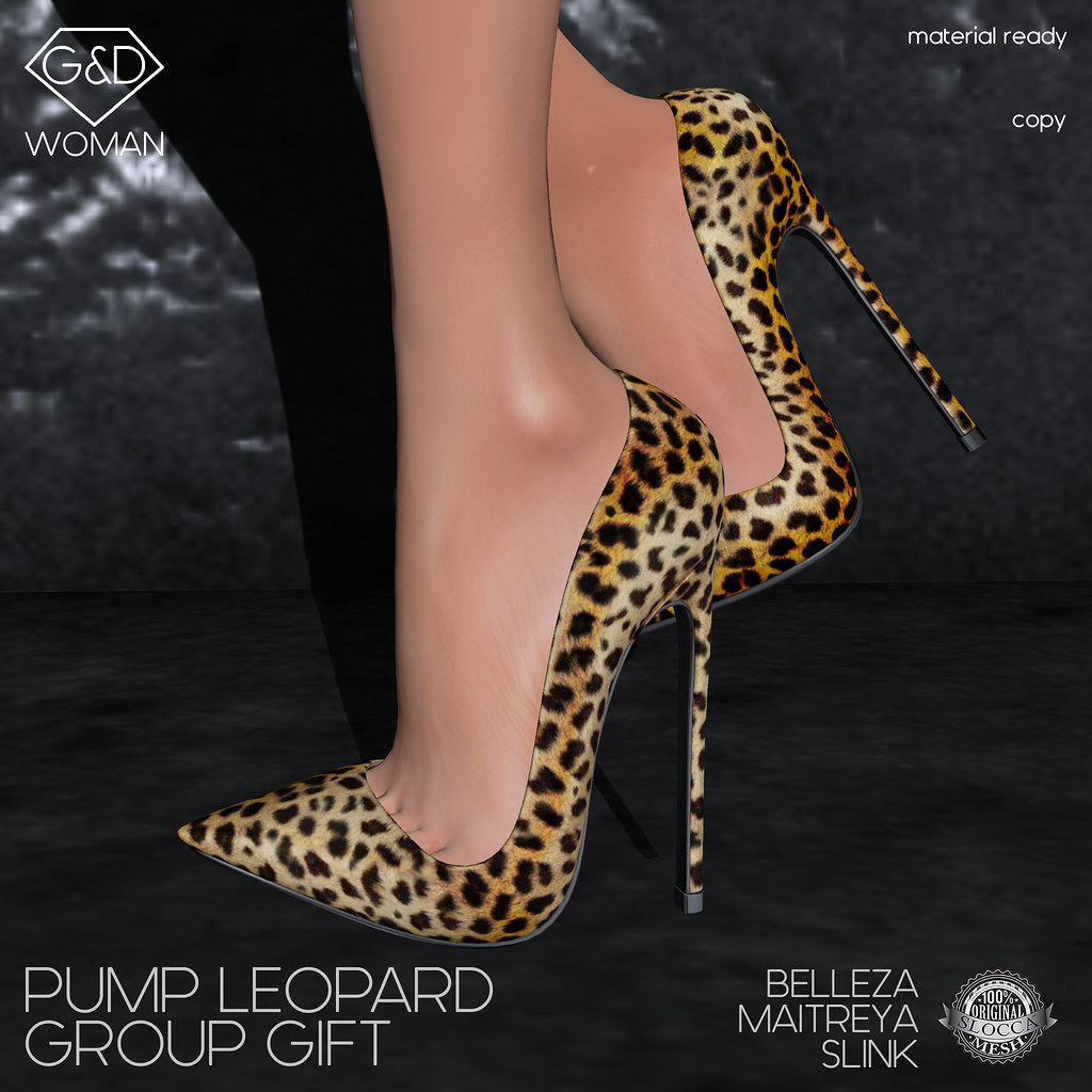 G&D Pump Leopard Group Gift