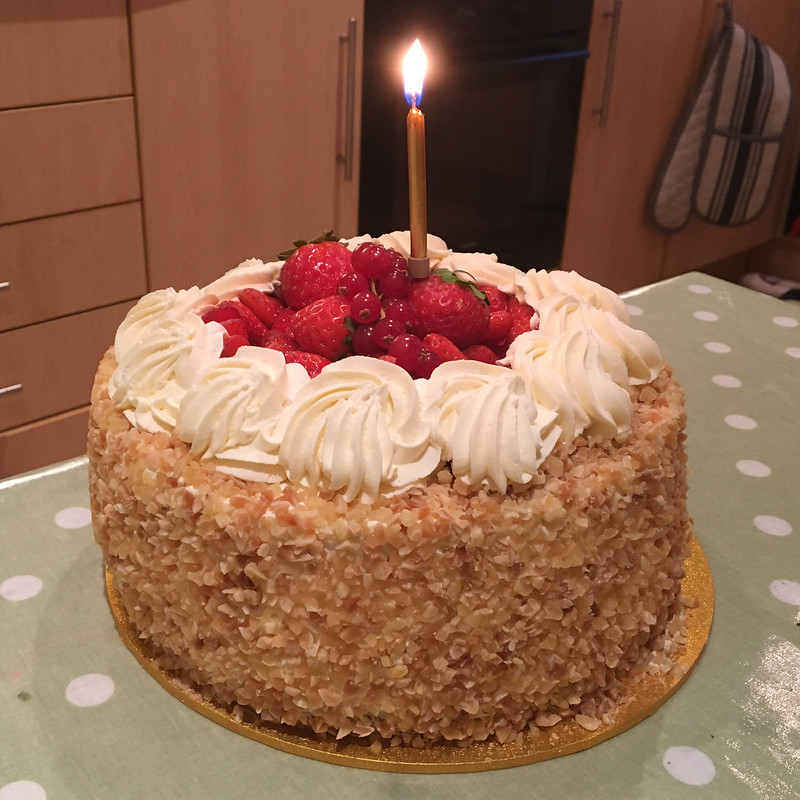 2017 (Day 280 - 7th Oct): Birthday gâteau