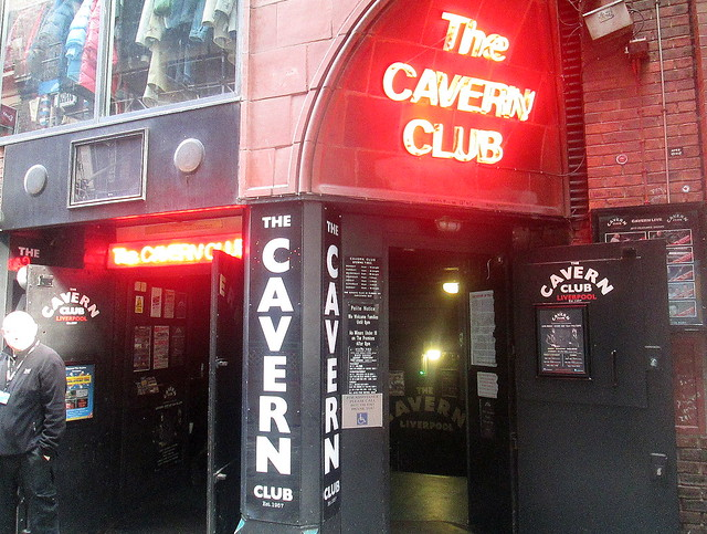 The Cavern new entrance