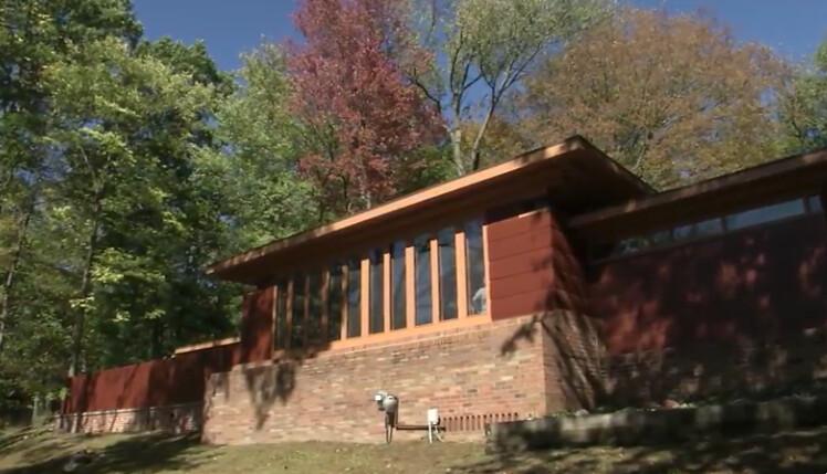 Frank Lloyd Wright Okemos Home Tour