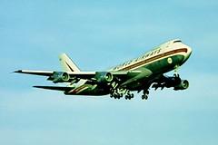 N747WA   Boeing 747-273C [20651] (World Airways) Gatwick~G 01/07/1974