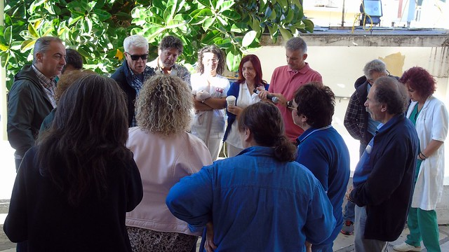 Τρίωρη στάση εργασίας και ανοιχτή Γενική Συνέλευση στο Νοσοκομείο για την αξιολόγηση παρουσία κλιμακίου της ΑΔΕΔΥ και ΠΟΕΔΗΝ