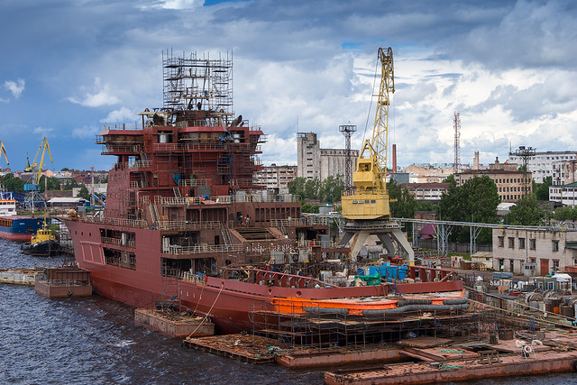 Icebreaker Alexander Sannikov, Sony SLT-A99, Sony 70-400mm F4-5.6 G SSM (SAL70400G)