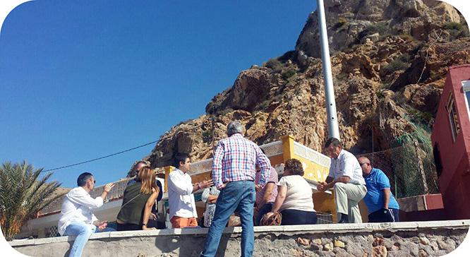 Una solución técnica avanzada permitirá consolidar el monte de El Portús