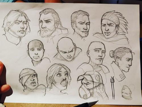 Estudio de personajes